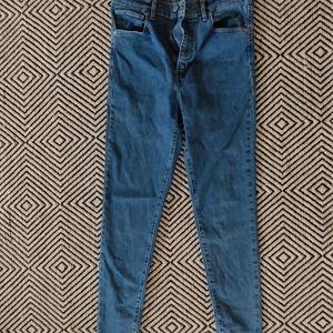 Levi's Mile High Super Skinny Size 30 Jeans